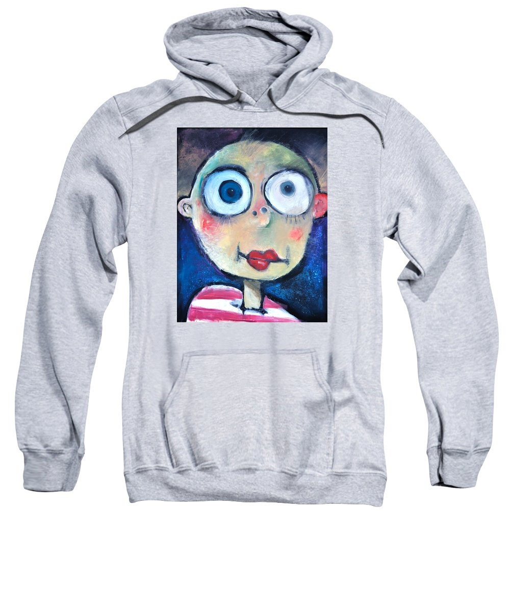 Child Sweatshirt featuring the painting As A Child by Tim Nyberg