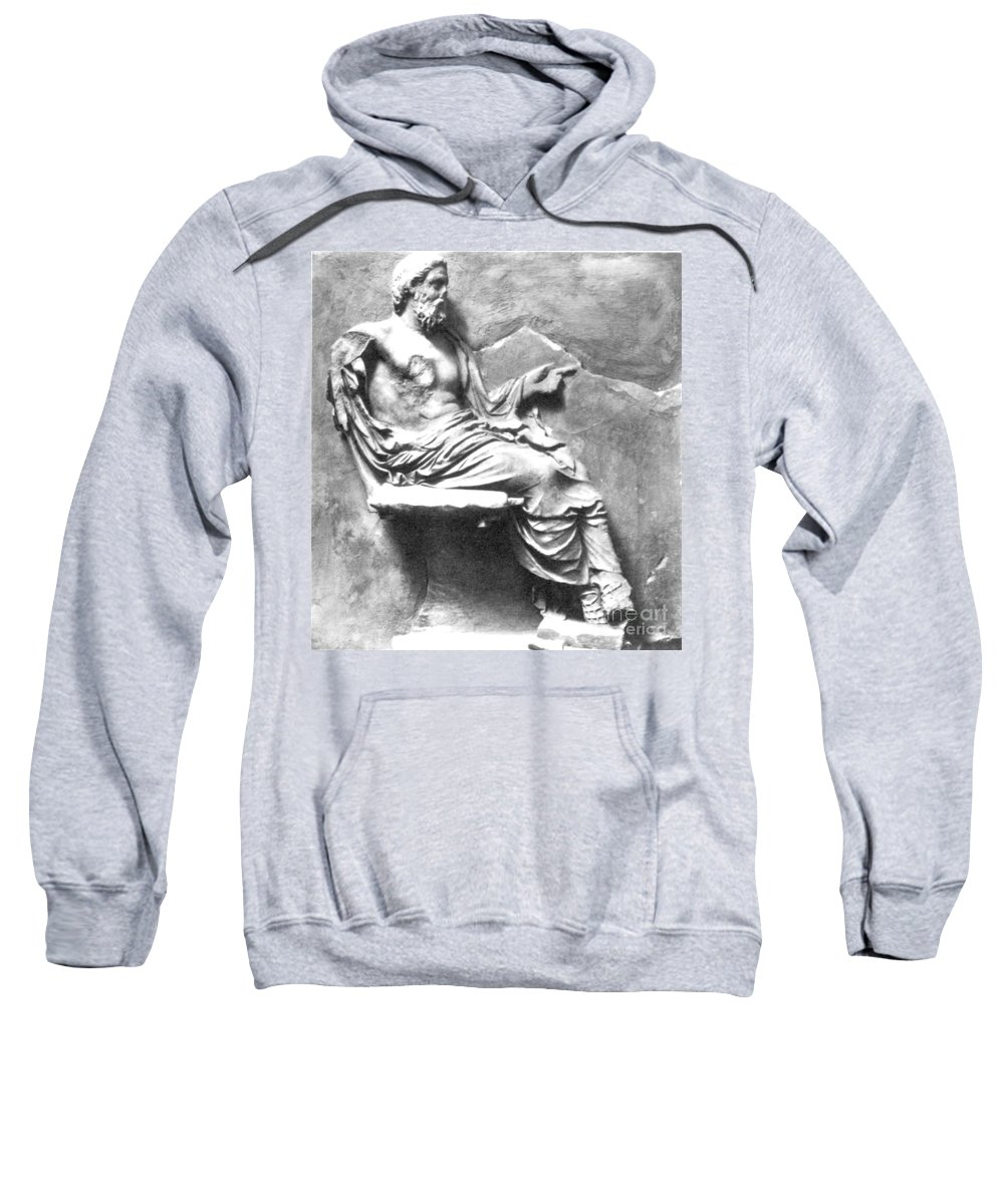 4th Century B.c. Sweatshirt featuring the photograph Asclepius by Granger