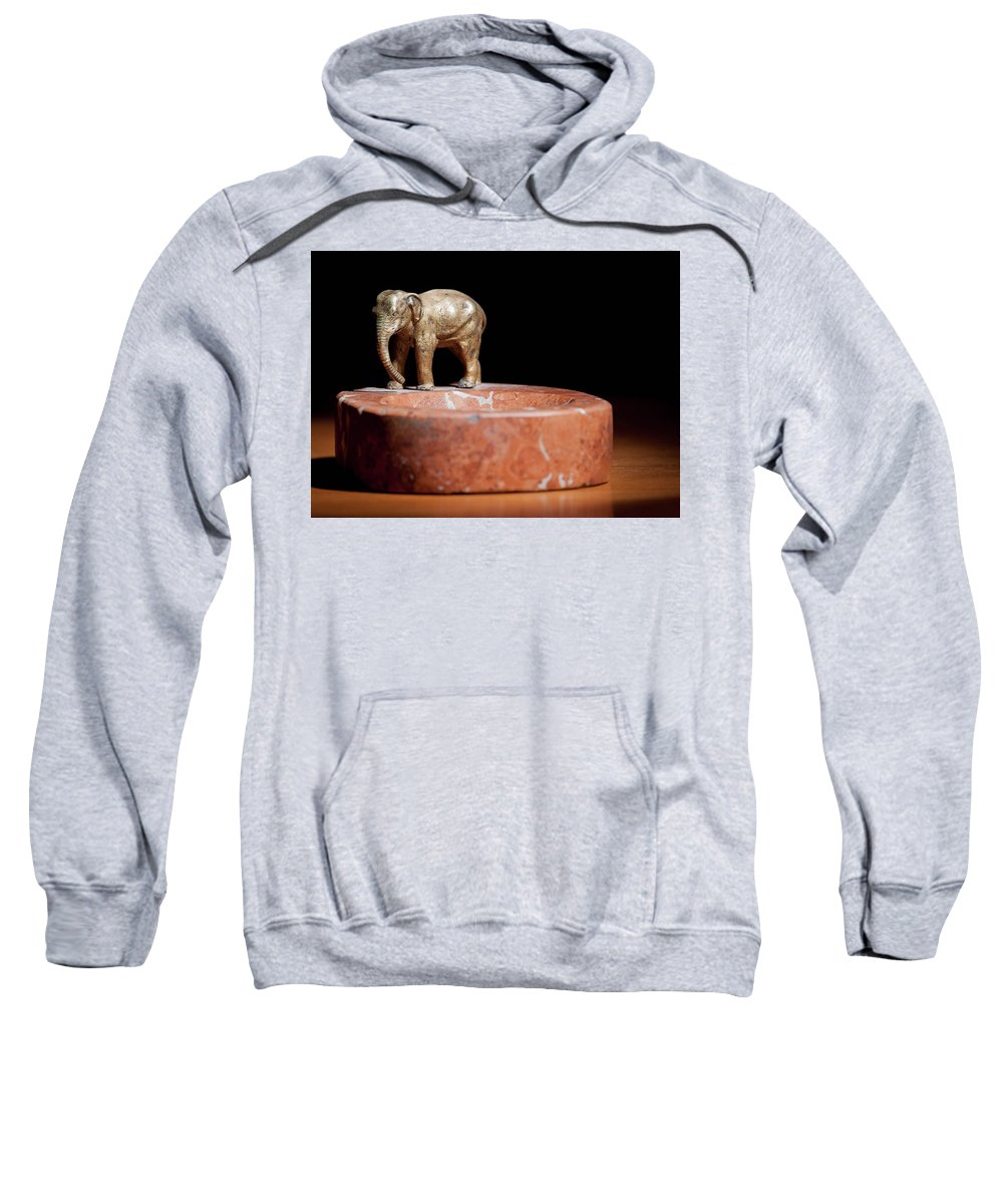 Ashtray Sweatshirt featuring the photograph Ashtray With Elefant by Stefan Rotter