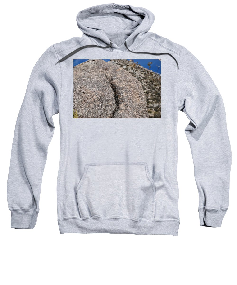 Pop Art Sweatshirt featuring the photograph Ass Rock New Mexico by Rob Hans