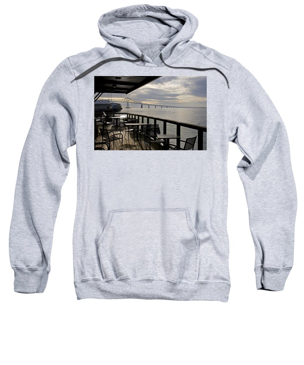 Scenic Sweatshirt featuring the photograph Astoria by Lee Santa