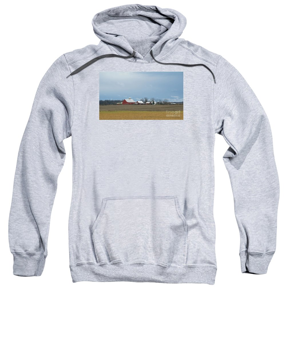 Winter Sweatshirt featuring the photograph At Rest by Ann Horn