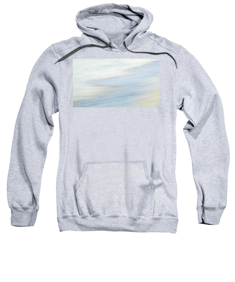 Batts Rock Sweatshirt featuring the photograph At The Shoreline by Andre Donawa