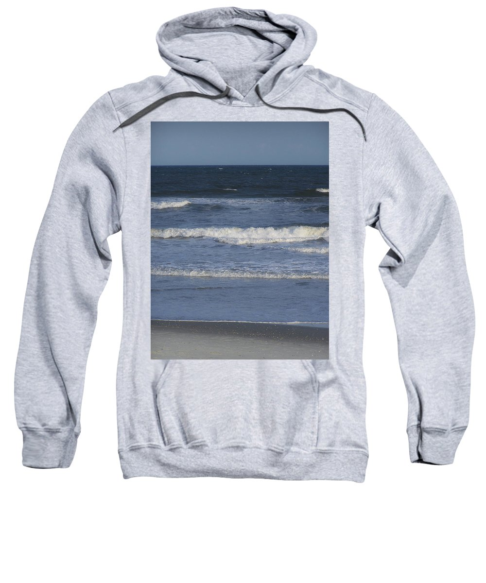 Atlantic Sweatshirt featuring the photograph Atlantic Ocean Gradient by Teresa Mucha