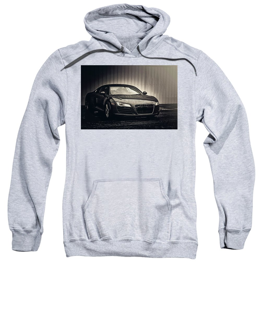 Audi R8 Sweatshirt featuring the photograph Audi R8 by Joel Witmeyer