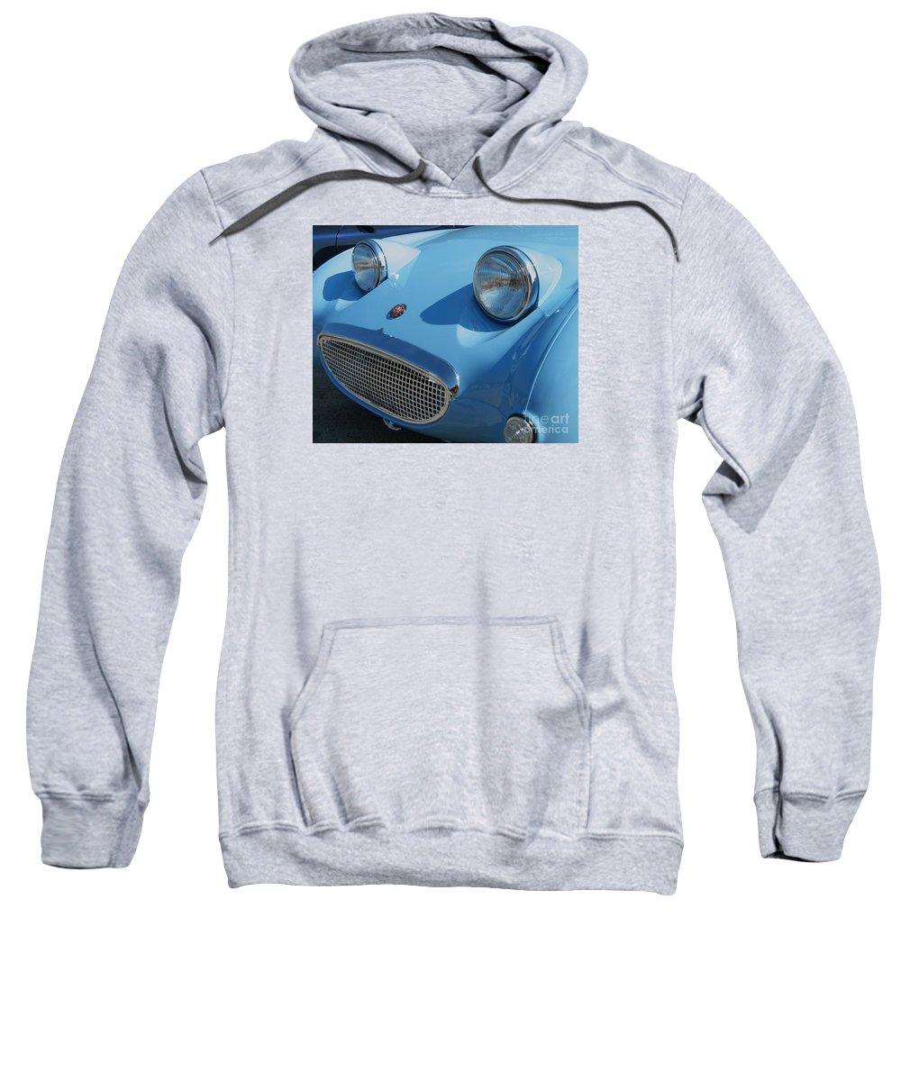 Austin Healy Sweatshirt featuring the photograph Austin Healy Sprite by Neil Zimmerman