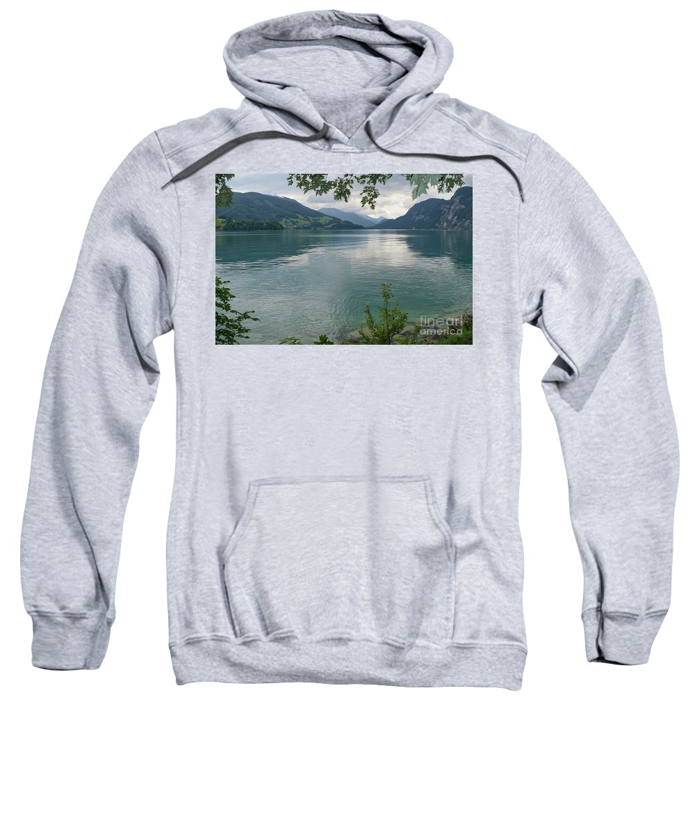 Austria Sweatshirt featuring the photograph Austrian Lake by Carol Groenen