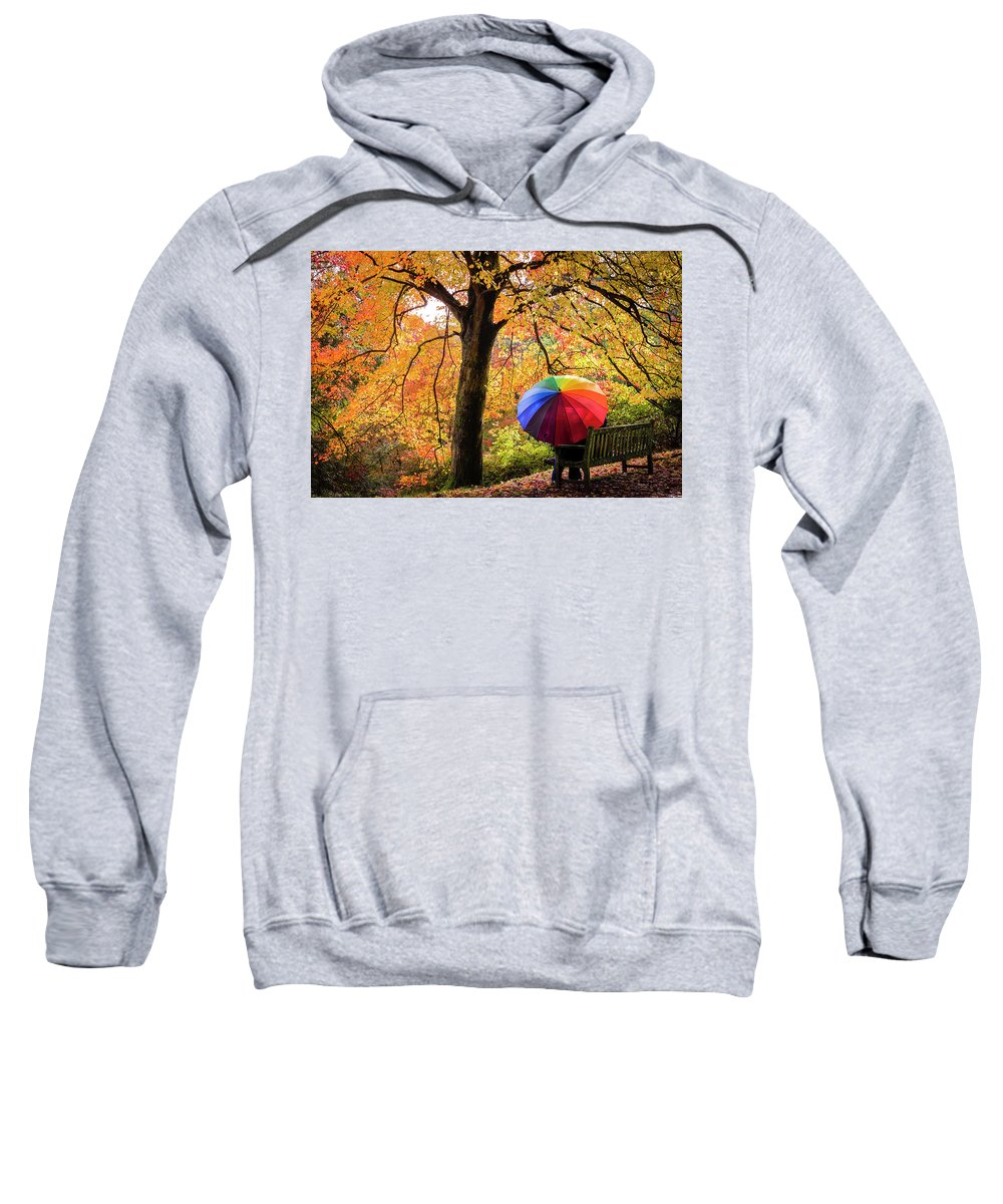 Autumn Sweatshirt featuring the photograph Autumn Colours by Kelvin Trundle