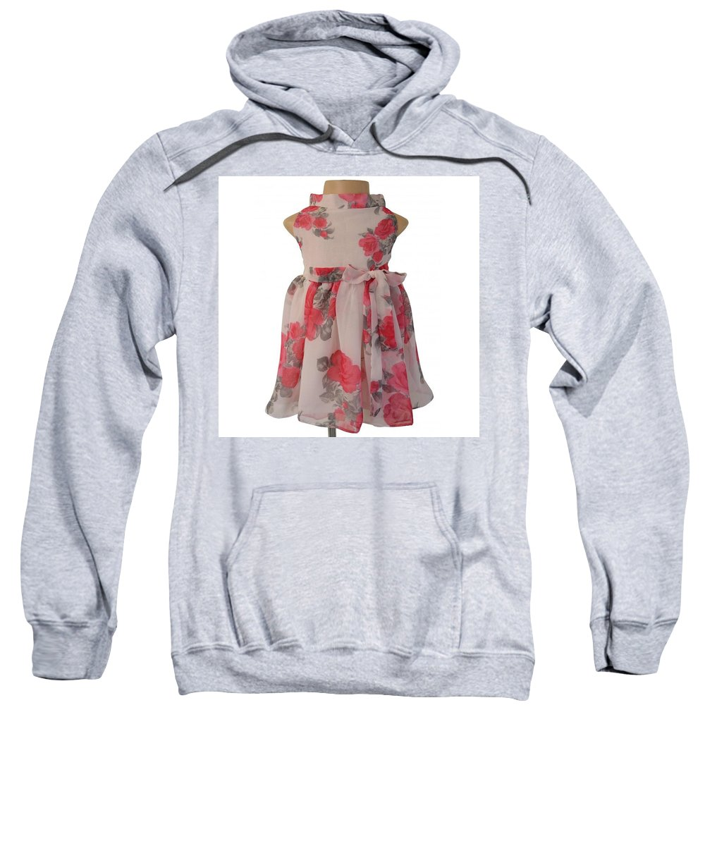 Girls Party Dresses Sweatshirt featuring the drawing Baby Girl Dresses Dresses For Girls - Faye by Faye SEO
