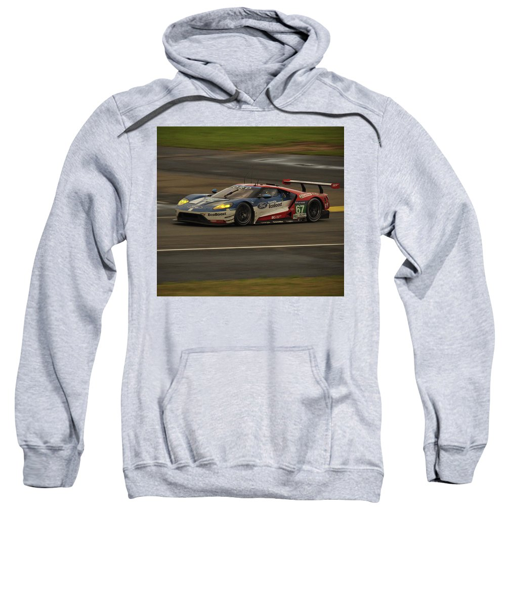 Ford Gt Sweatshirt featuring the photograph Back After 50 Years by Eugene Kowalski