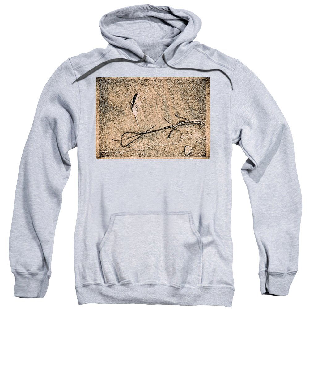 Fine Art Sweatshirt featuring the photograph Back For Ever Zen by Susanne Van Hulst