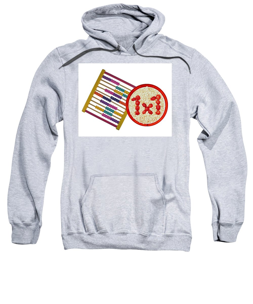 Food Sweatshirt featuring the photograph Back To School by Manfred Lutzius