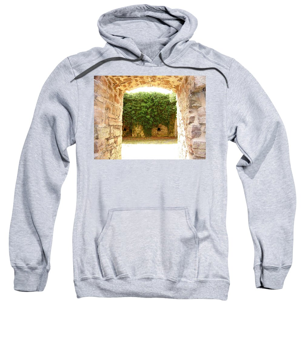 Backyard Sweatshirt featuring the photograph Backyard by Are Lund