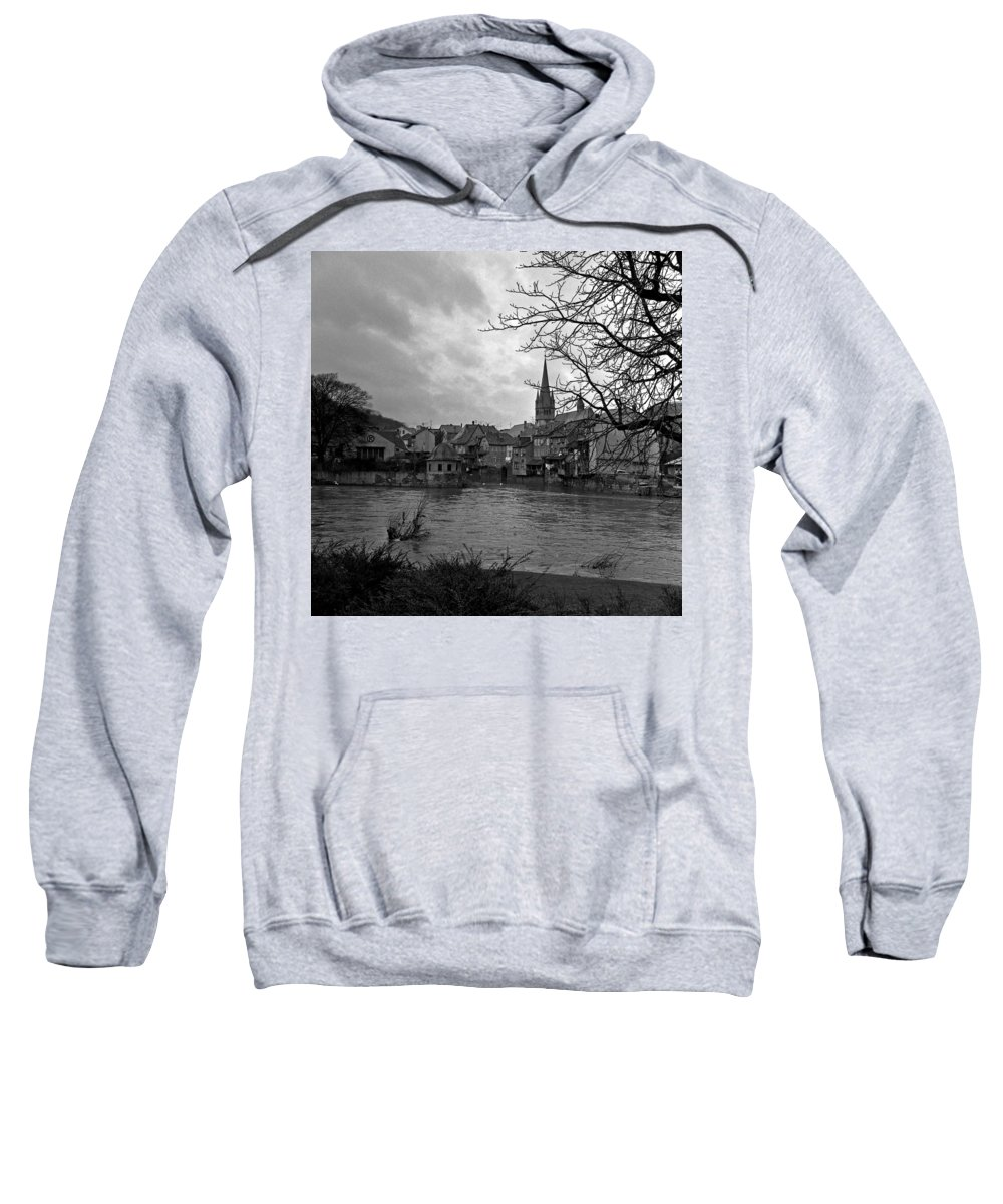 Sweatshirt featuring the photograph Bad Kreuznach 12 by Lee Santa