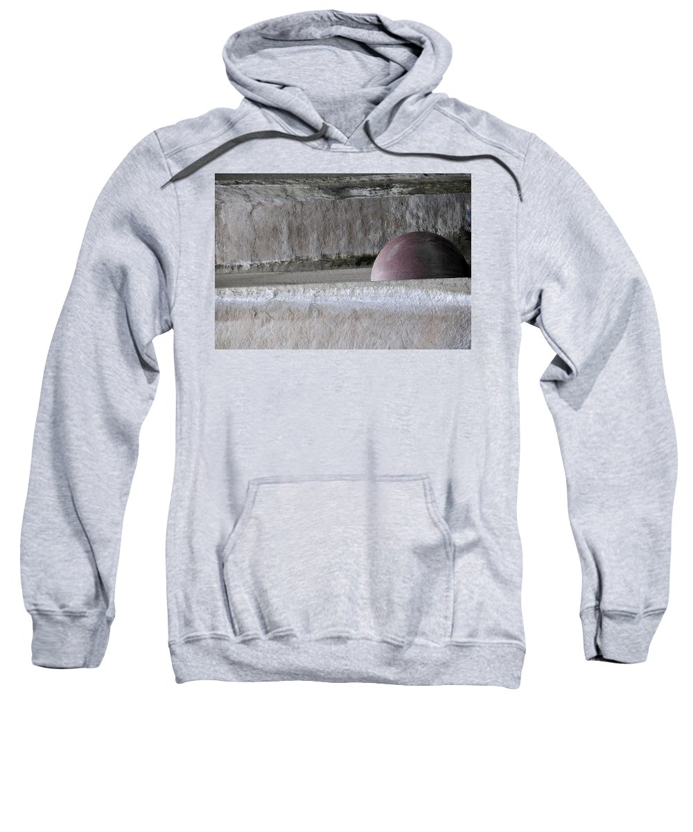 Abstract Sweatshirt featuring the photograph Bad Moon Rising by David Arment