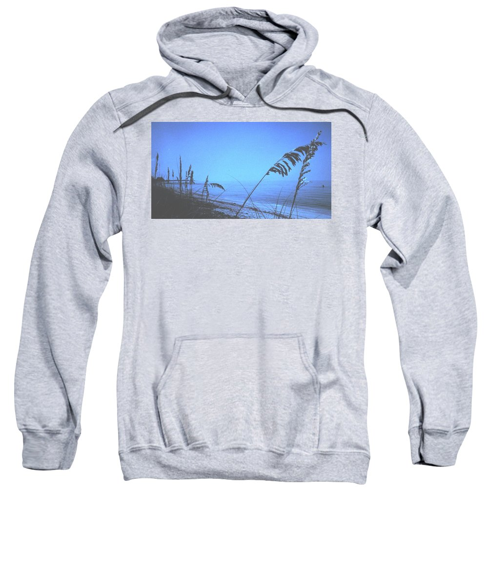 Sweatshirt featuring the photograph Bahama Blue by Ian MacDonald