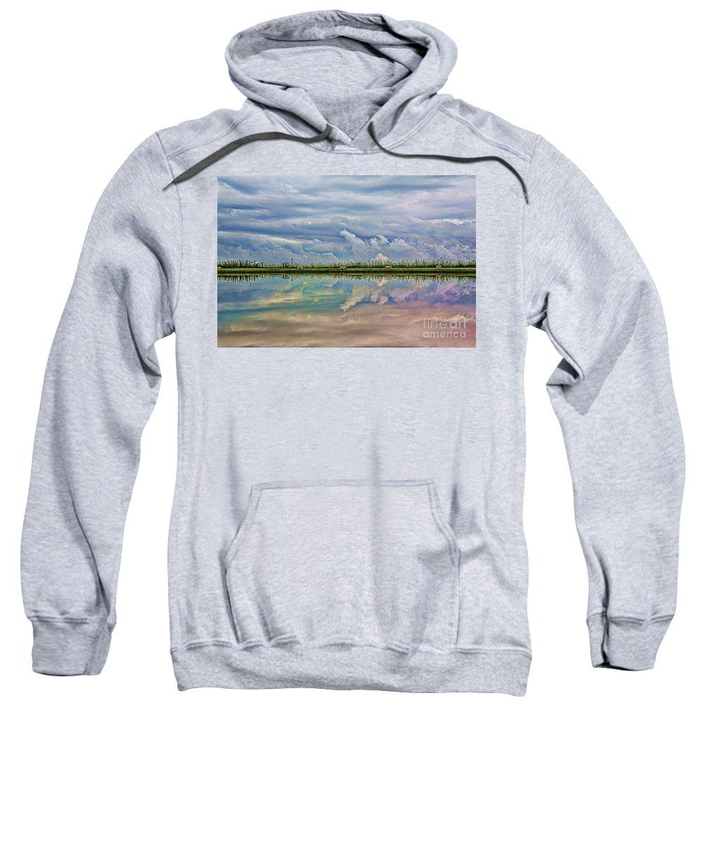 Reflection Sweatshirt featuring the photograph Balance by Casper Cammeraat