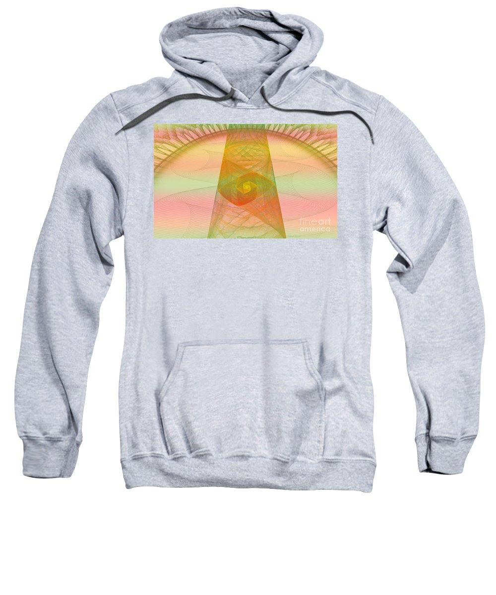 Digital Sweatshirt featuring the photograph Balance Of Energy by Deborah Benoit