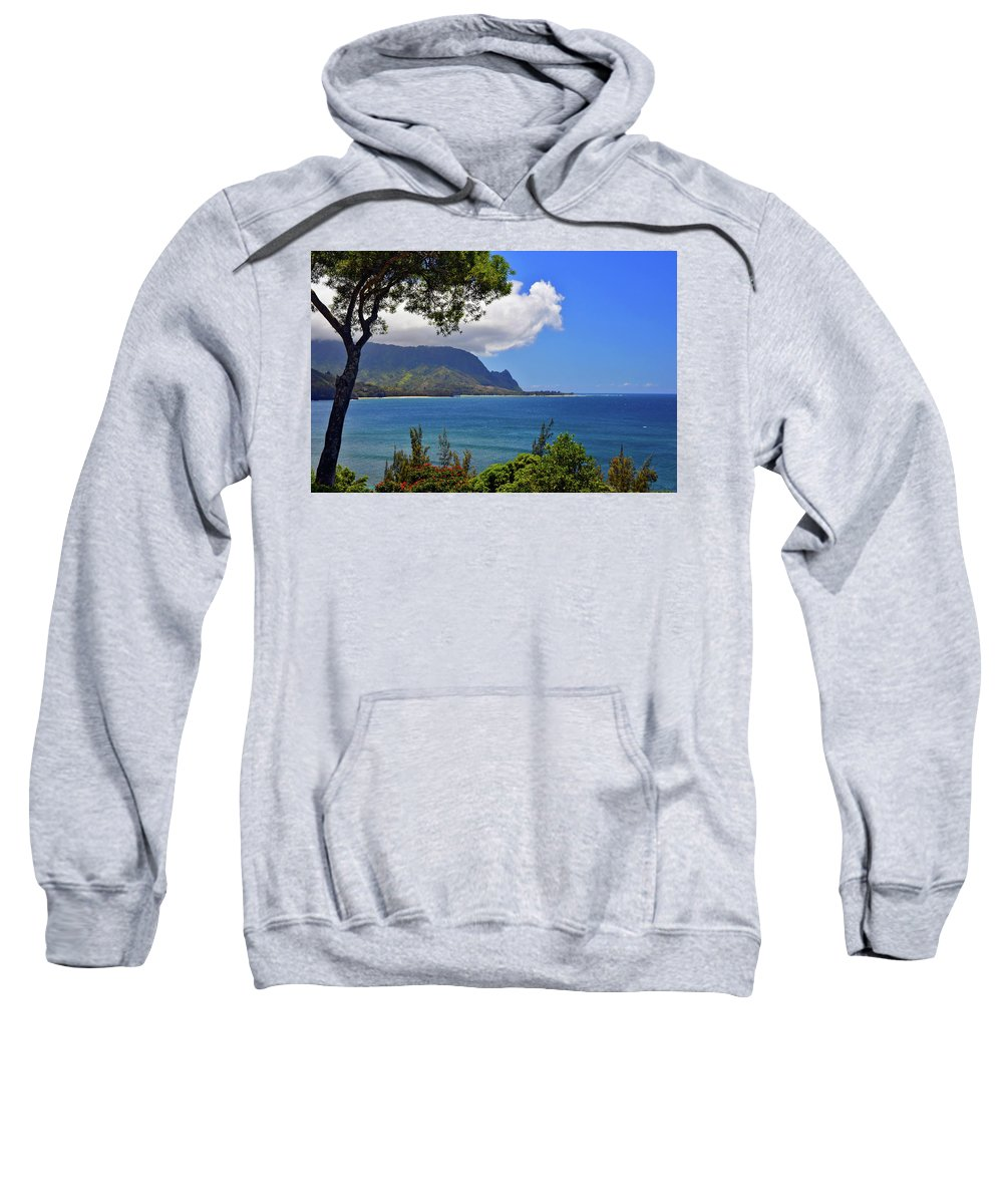Hawaii Sweatshirt featuring the photograph Bali Hai Hawaii by Marie Hicks