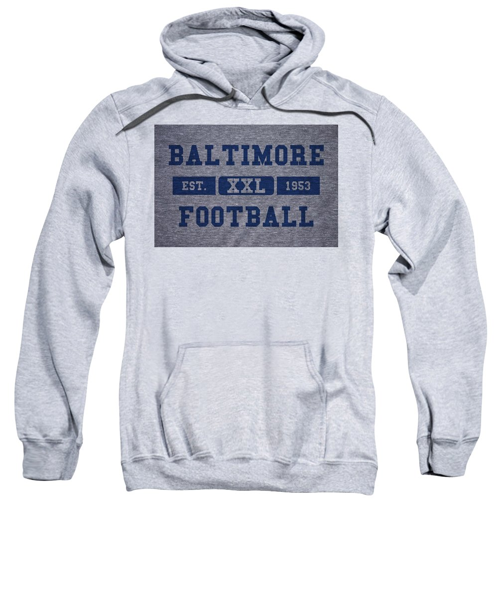 Colts Sweatshirt featuring the photograph Baltimore Colts Retro Shirt by Joe Hamilton