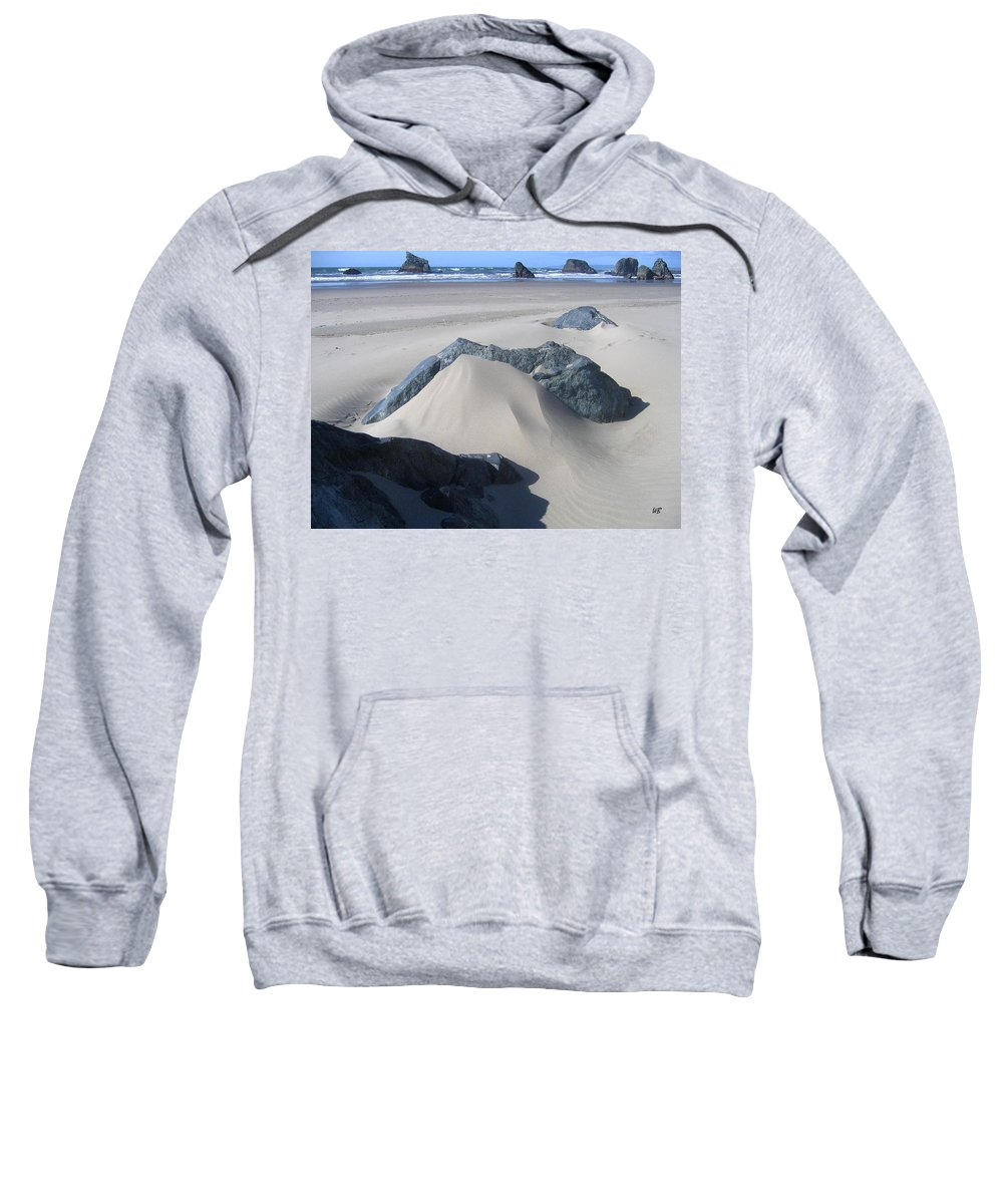 Bandon Sweatshirt featuring the photograph Bandon 15 by Will Borden