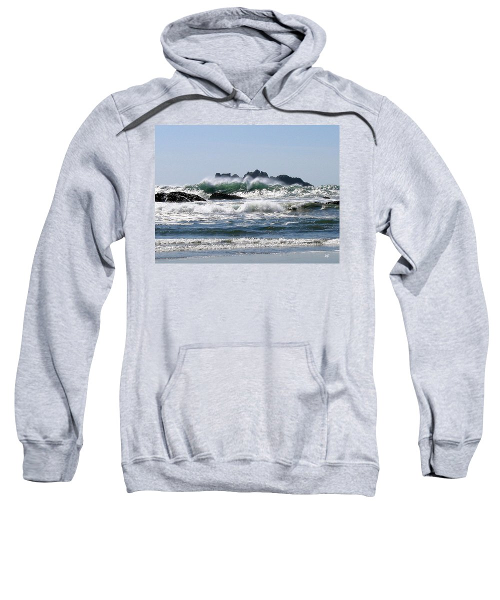 Bandon Sweatshirt featuring the photograph Bandon 20 by Will Borden