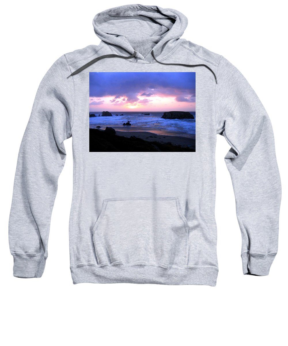 Bandon Sweatshirt featuring the photograph Bandon 27 by Will Borden
