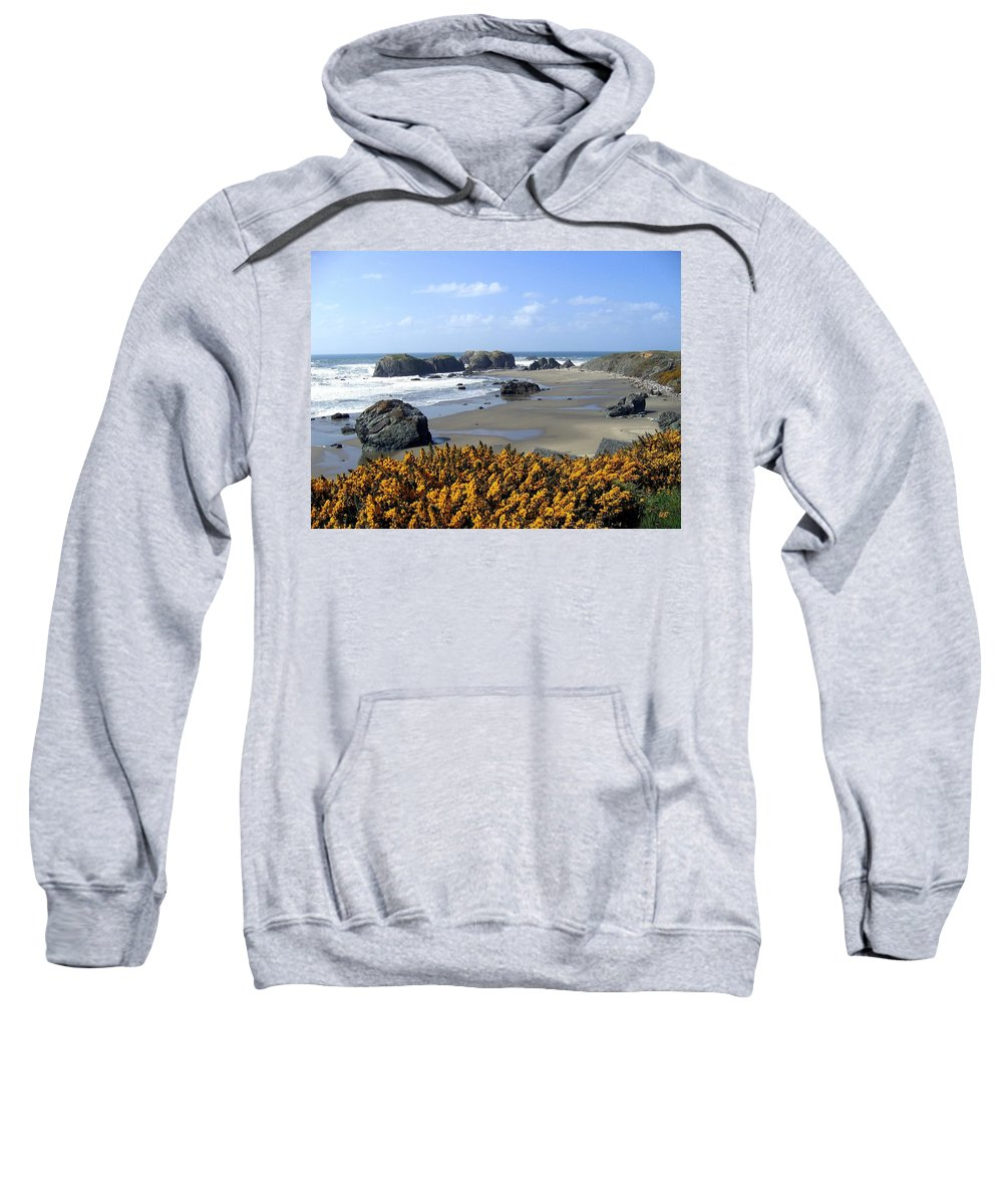 Bandon Sweatshirt featuring the photograph Bandon 4 by Will Borden