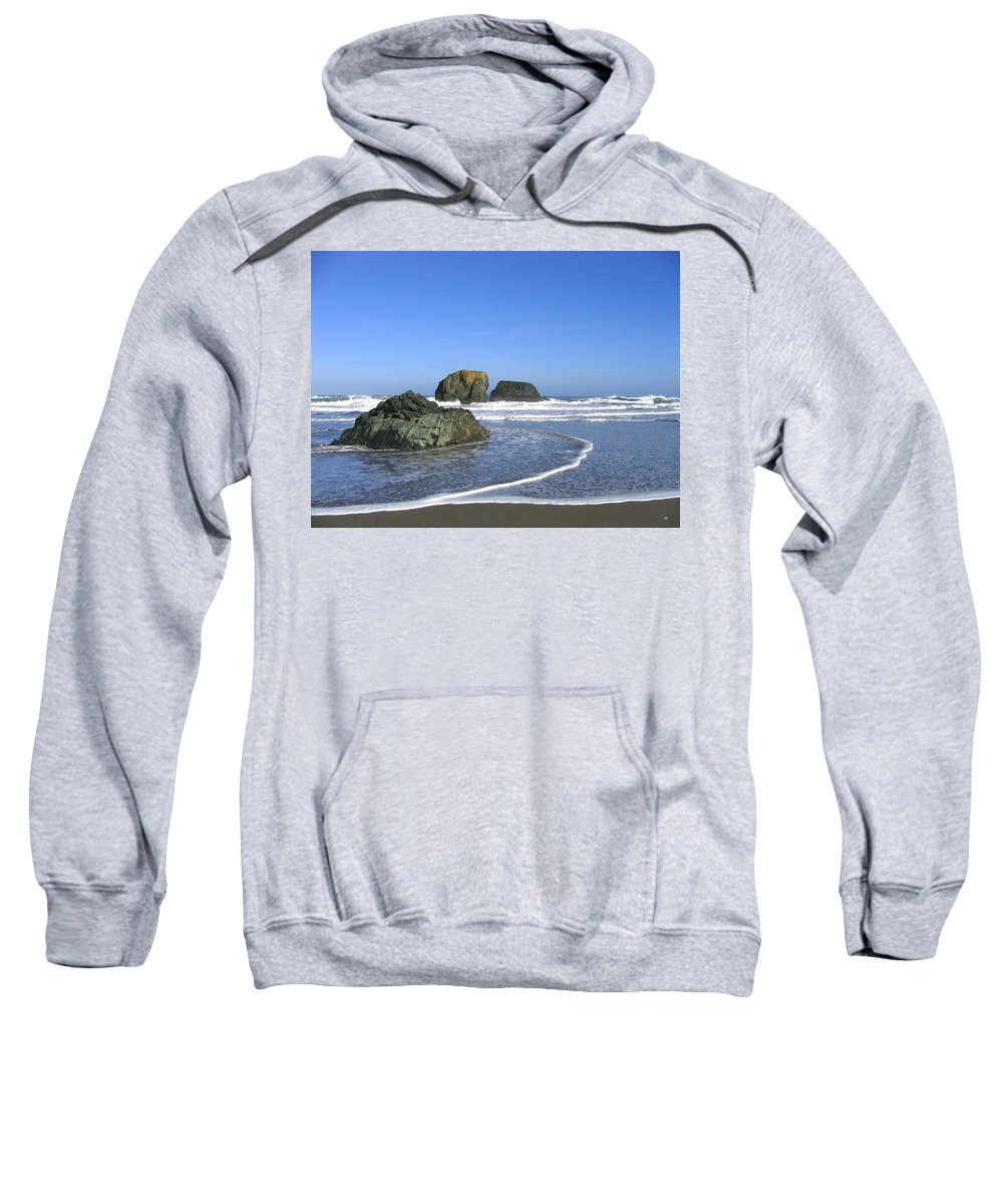 Bandon 5 Sweatshirt featuring the photograph Bandon 5 by Will Borden