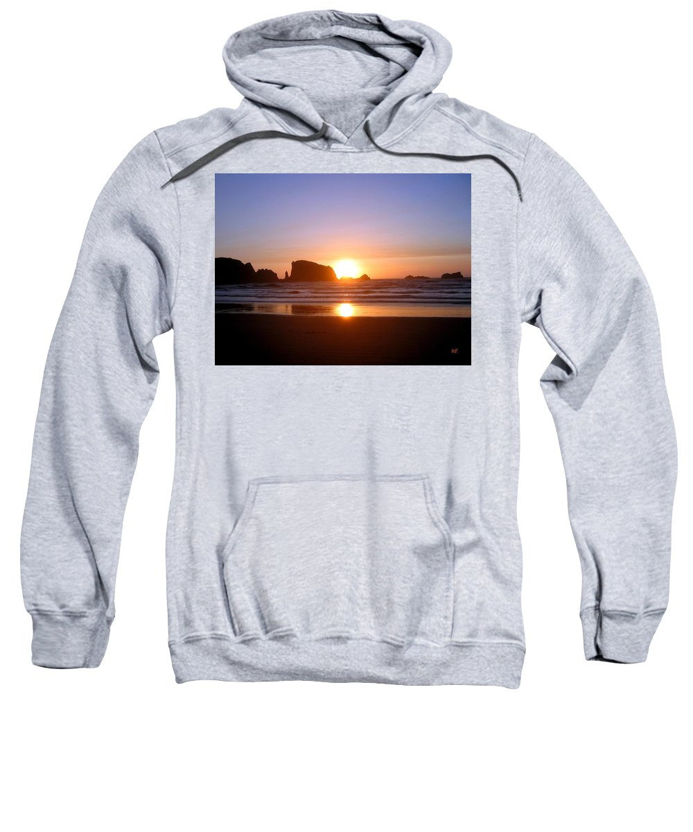 Bandon Sweatshirt featuring the photograph Bandon 7 by Will Borden