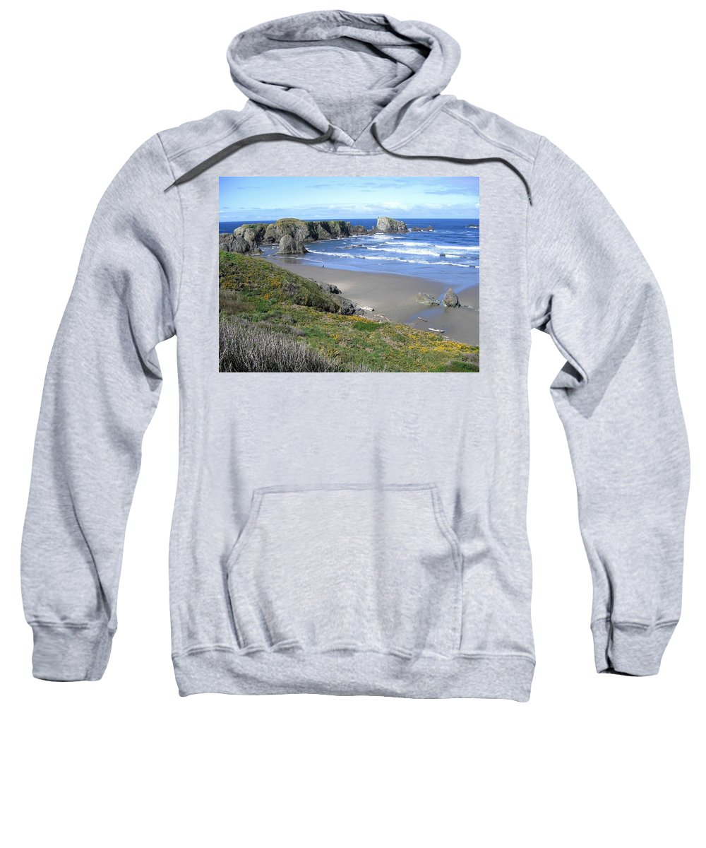 Bandon Sweatshirt featuring the photograph Bandon 8 by Will Borden