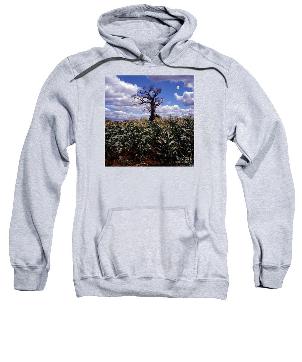 Nature Sweatshirt featuring the photograph Baobaba Tree by Morris Keyonzo