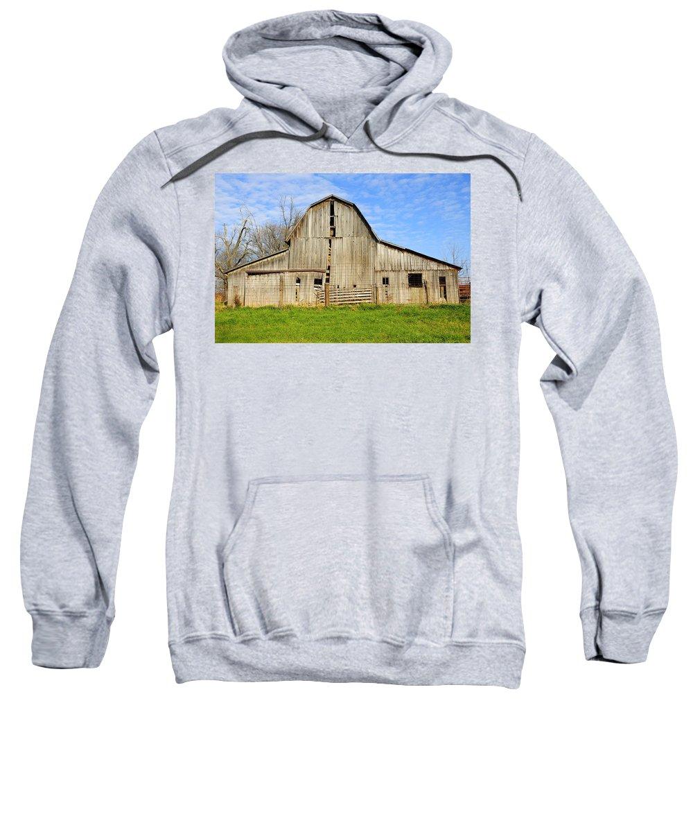 Barn Sweatshirt featuring the photograph Barn 101 by David Arment