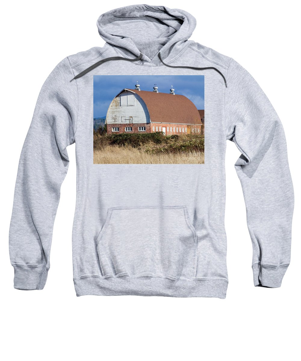 Barn Sweatshirt featuring the photograph Barn 2018_1_21-8 by Roger Patterson