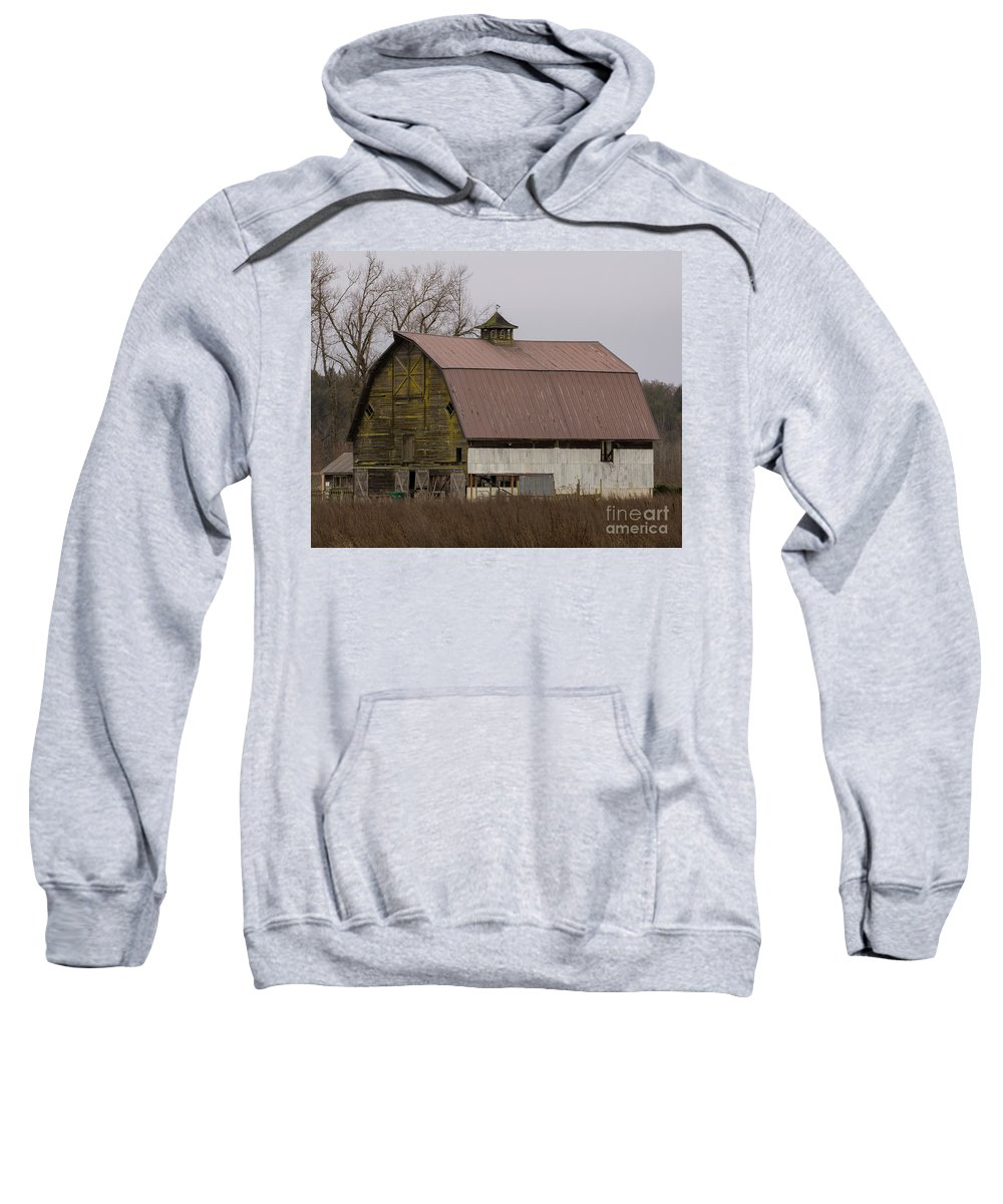 Barn Sweatshirt featuring the photograph Barn 2018_1_24-4 by Roger Patterson