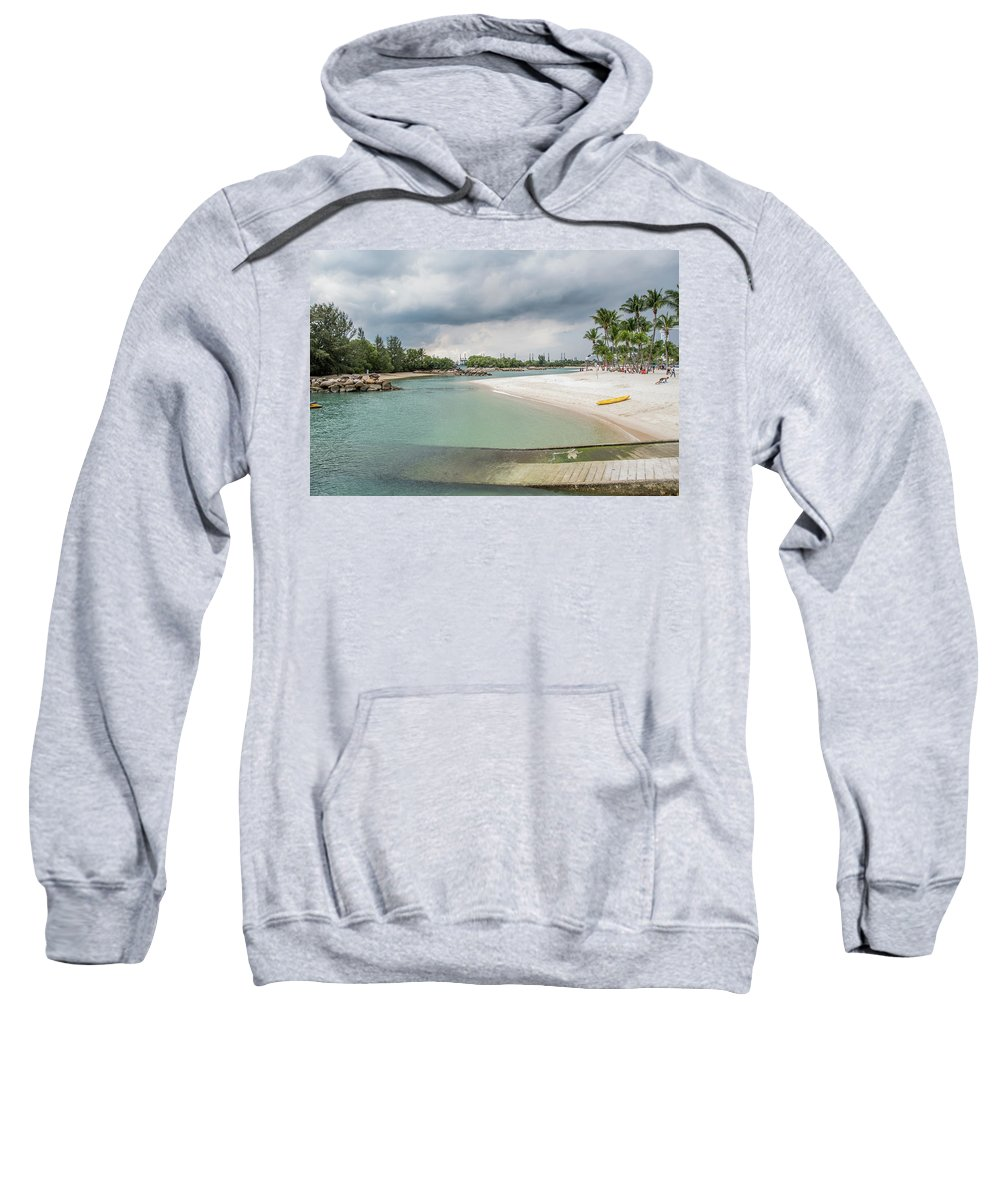 Beach Sweatshirt featuring the photograph Beach by David Rolt