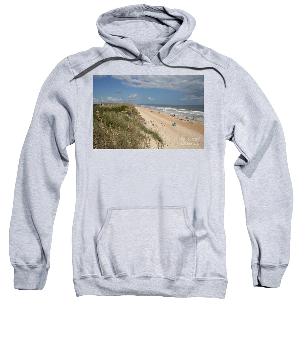 Dunes Sweatshirt featuring the photograph Beach Life by Christiane Schulze Art And Photography