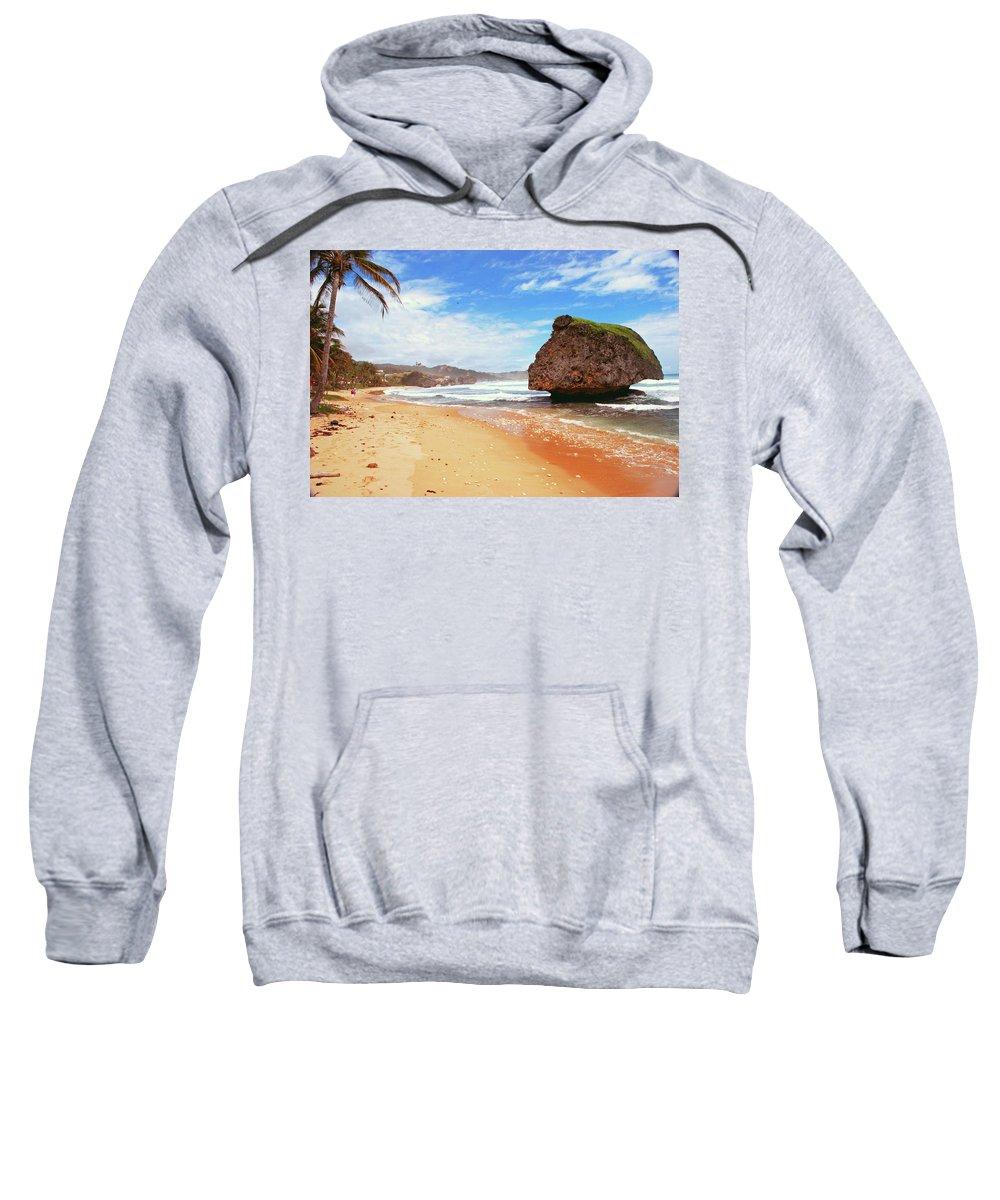 Beach Sweatshirt featuring the photograph Beach Wonders by Gary Wonning