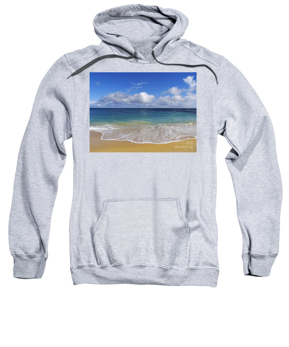 Baldwin Sweatshirt featuring the photograph Beautiful Day by Ron Dahlquist - Printscapes