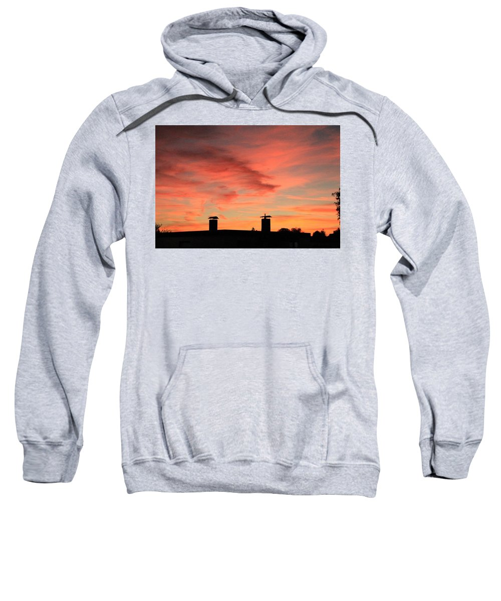 Sweatshirt featuring the photograph Beautiful Sky by Lara Webler