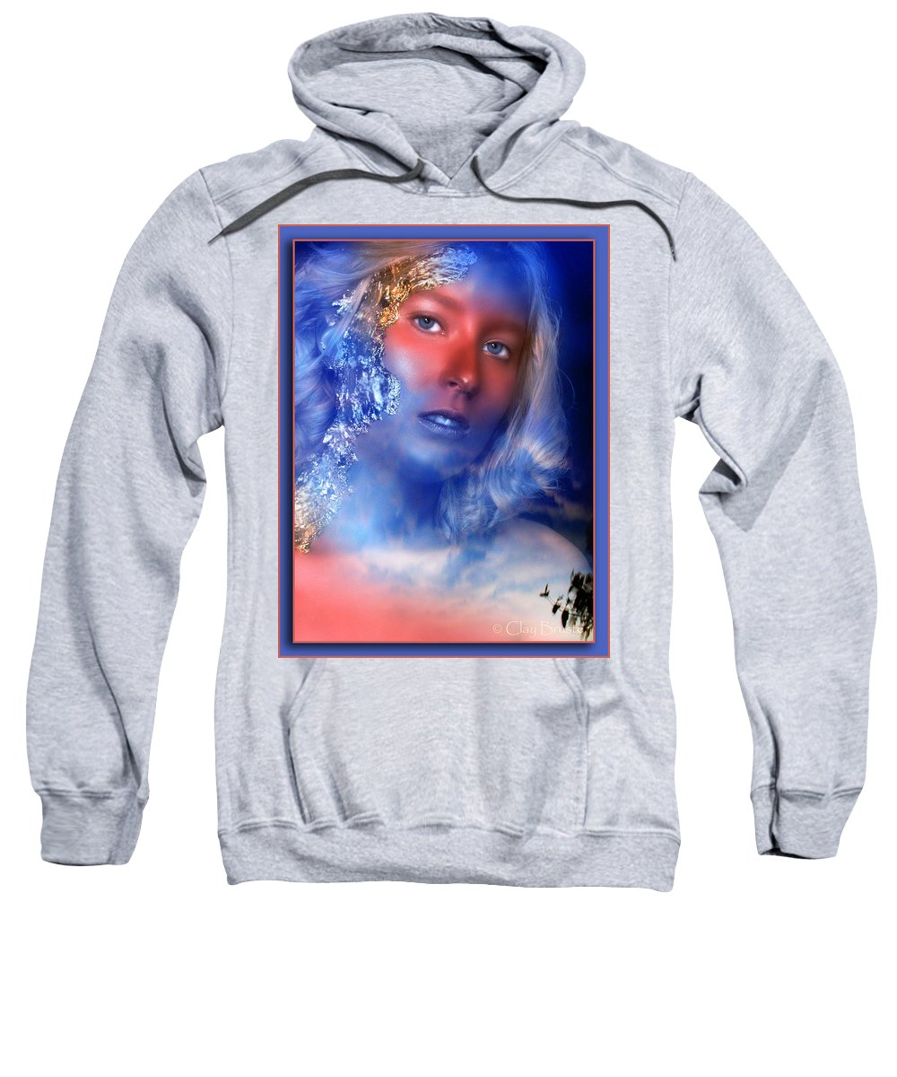 Clay Sweatshirt featuring the photograph Beauty In The Clouds by Clayton Bruster