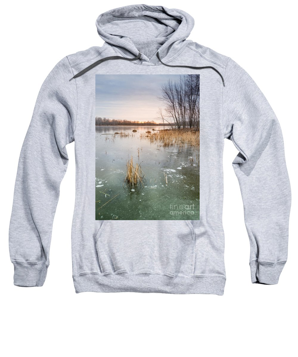 Landscape Sweatshirt featuring the photograph Beaver Place by Jola Martysz