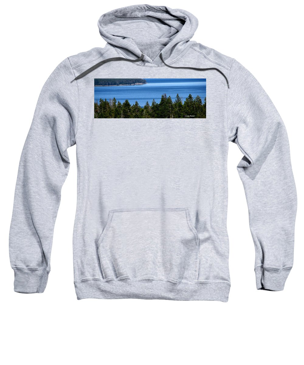 Patzer Sweatshirt featuring the photograph Bend In Columbia by Greg Patzer