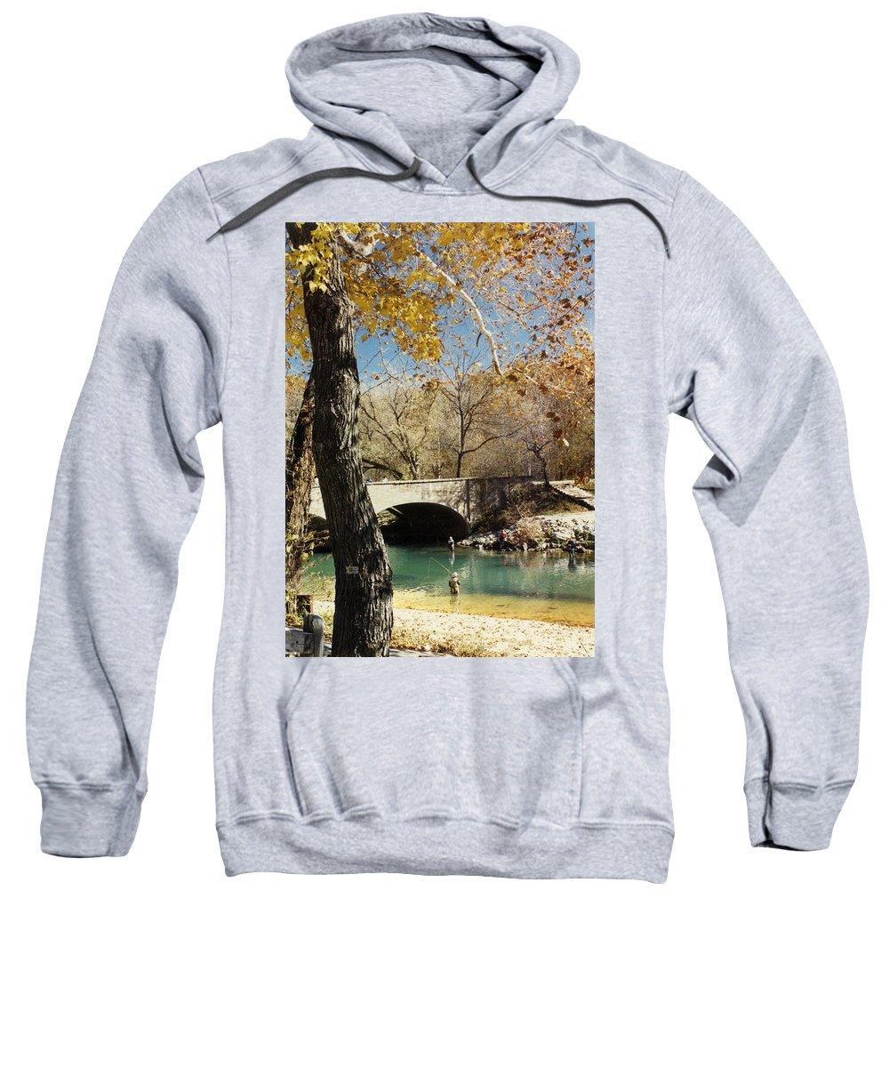 Landscape Sweatshirt featuring the photograph Bennet Springs by Steve Karol