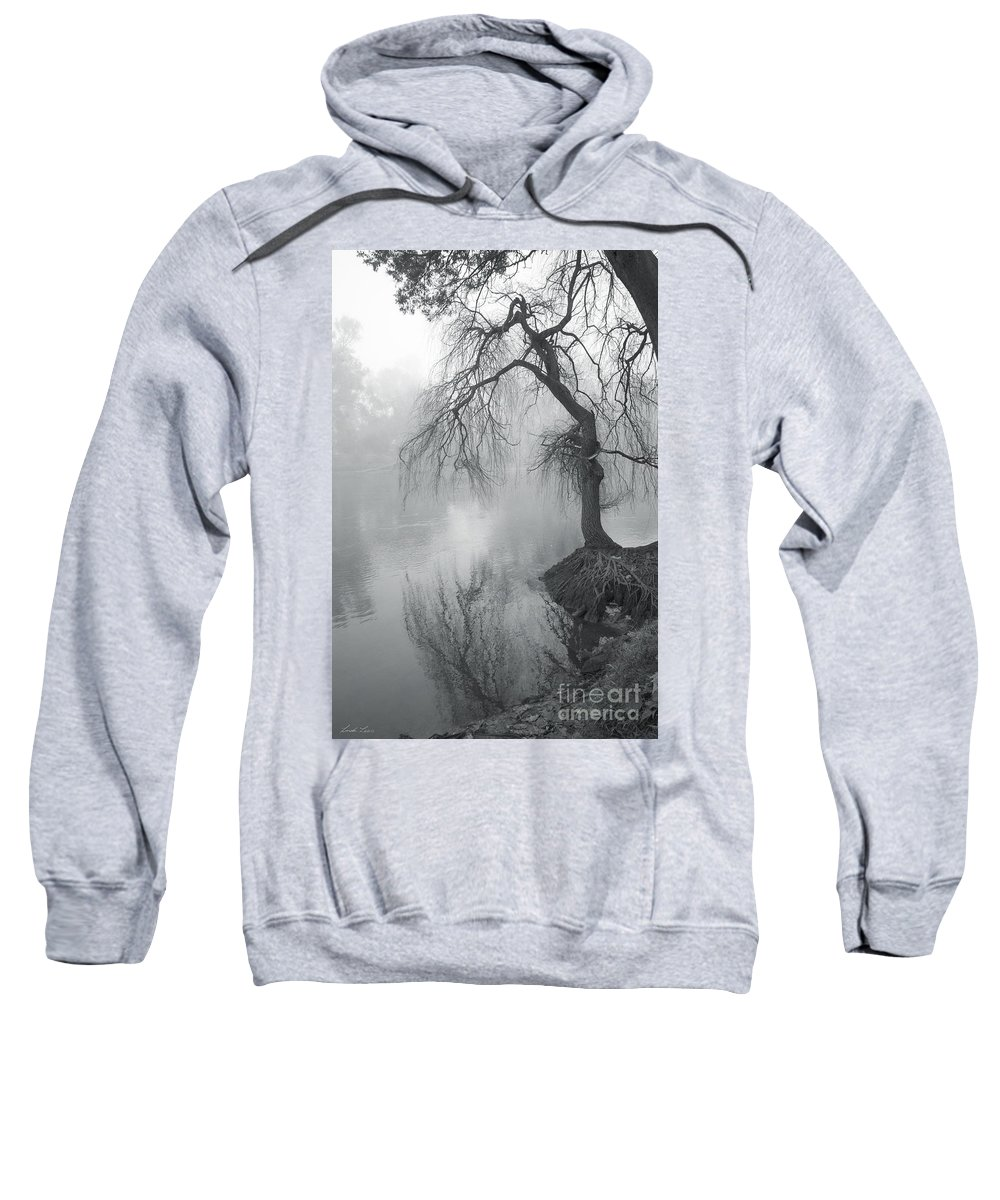 Tree Sweatshirt featuring the photograph Bent With Gentleness And Time by Linda Lees
