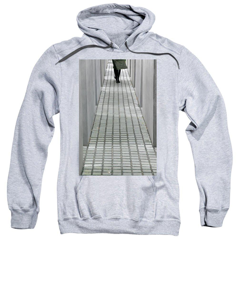 Berlin Sweatshirt featuring the photograph Berlin Memorial by KG Thienemann
