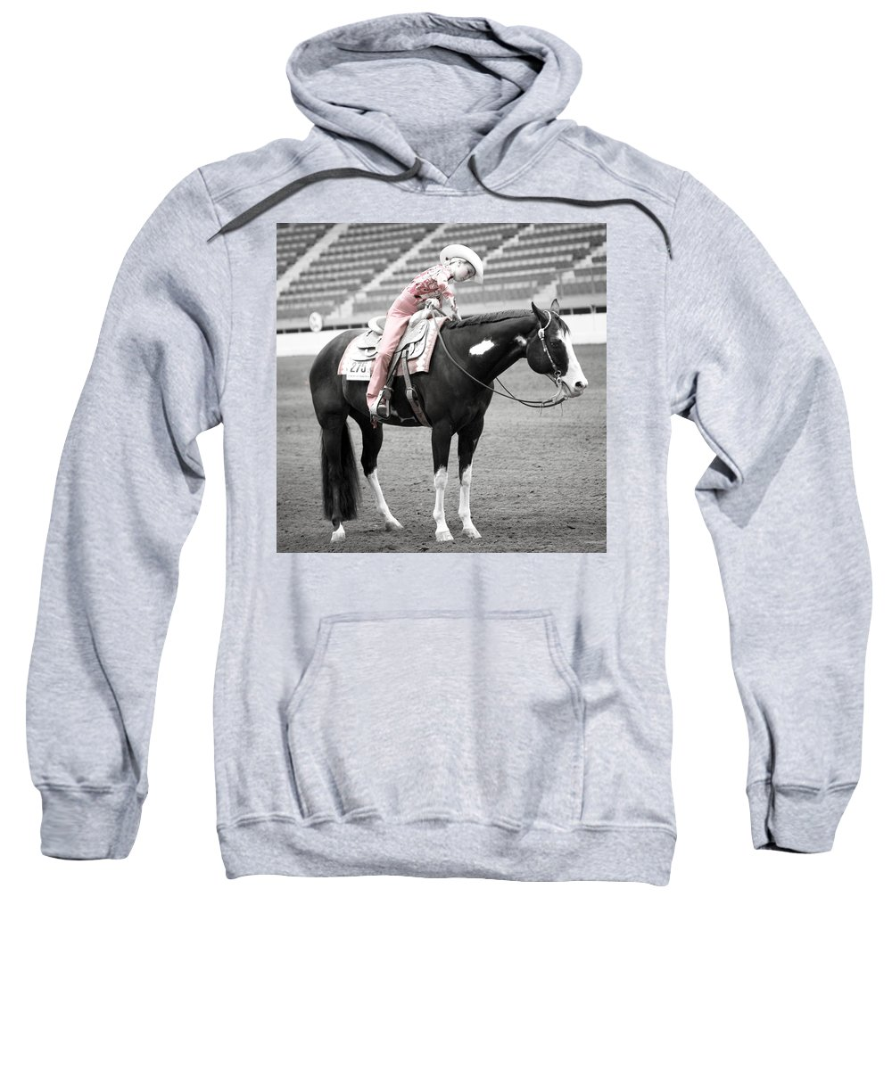 Americana Sweatshirt featuring the photograph Best Friends by Marilyn Hunt