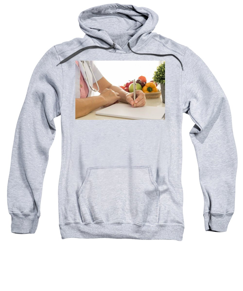 Naturopath Melbourne Sweatshirt featuring the photograph Best Nutritionists Melbourne by Marisa Camilleri