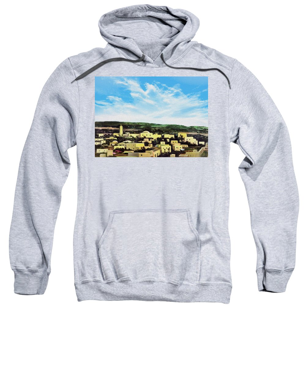 Bethlehem Sweatshirt featuring the photograph Bethlehem New Day by Munir Alawi
