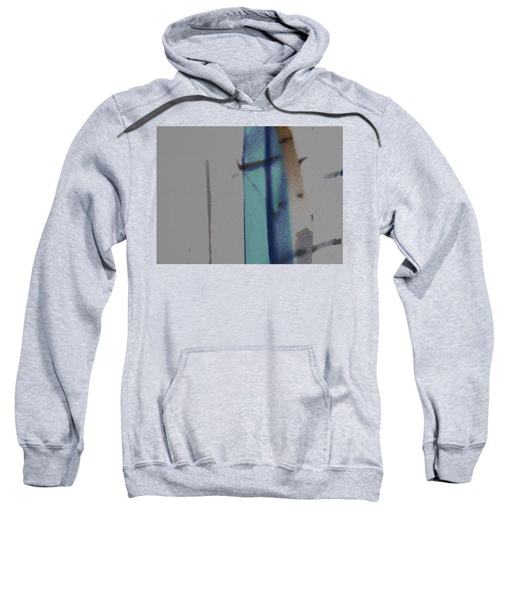 Veil Sweatshirt featuring the digital art Beyond The Veil by Ken Walker